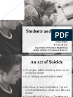 Students and Suicides