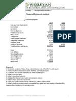 Accounting 11 FS Analysis
