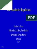 Slides the Pediatric Regulation(1)