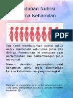 Pendidikan Gizi Booklet