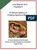 Derecho Agrario Curso.