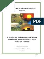 Derecho Agrario Legislacion