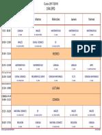 Horarios Clases Ep 2017-18