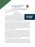 Nuestras Propias Historias - Rodrigo Saavedra