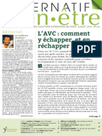 AlternatifBienEtre 142 Juillet 2018 L Avc Comment y Echapper Et en Rechapper SD