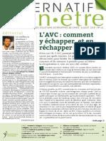 AlternatifBienEtre 142 Juillet 2018 L Avc Comment y Echapper Et en Rechapper SD