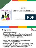 M13 Hubungan Industri