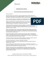 19/06/18 Será Sonora sede del Encuentro Nacional de Archivos -C.061862