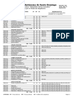 Plan de Estudios Arquitectura Uasd