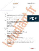 Brevet 2018 Mathematiques Corrige