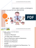 La Planea Cin Educativa