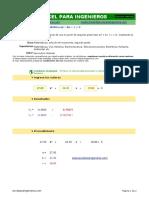 Fórmula Cuadrática (ax²+bx +c = 0).xlsx