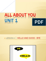 5. All About You Lessons b c