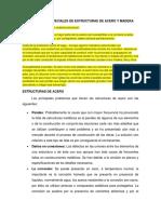 Problemas Especiales de Estructuras de Acero y Madera