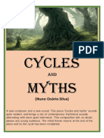 Cycles and Myths - Nuno Osorio - Set of Clarinets