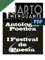 LIBRO FESTIVAL DE POESÍA CUARTO MENGUANTE