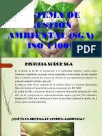 Sistema de Gestión Ambiental (Sga) Iso