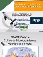Practica N 4 microbiologia  medios de cultivo.ppt