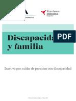 Informe Discapacidad y Familia 2018