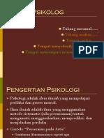 dasar psikologi