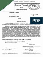 Thomas Traficante criminal complaint