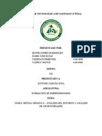 (Individual) Análisis de Entorno y Análisis de Oportunidades.