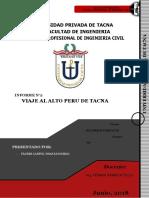 Informe de Viaje de Estudio-Alto Peru