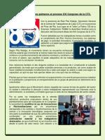Respaldo de Talabarteros Palmeros Al XXI Congreso de La CTC