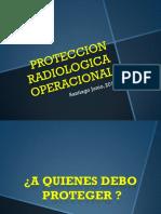 Protección radiológica operacional