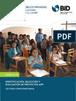 Identificación, selección y evaluación de proyectos de APP