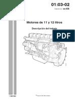 motor 11 y 12 litros scania