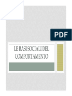 2 Le Basi Sociali Del Comportamento 2014