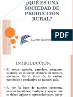 Sociedad de Produccion Rural 20 01 2018