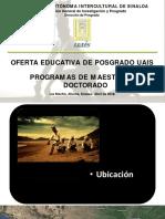 Promoción de Doctorado en Economía y Negocios Internacionales