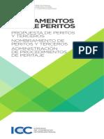 ICC  Reglamentos Sobre Peritos ( Español)