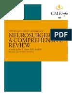 Neurosurgery CME Upadte course