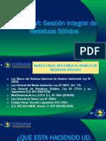 Módulo VI - Gestión Integral de Residuos Sólidos
