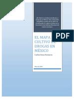 El Mapa Del Cultivo de Drogas en Mexico