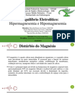 Hipermagnesemia e Hipomagnesemia