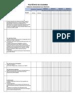 Formato Cronograma Del Proyecto