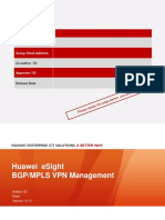 Esight v300r001c10 Bgp Mpls VPN Management