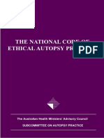National Code of Autopsy Practice