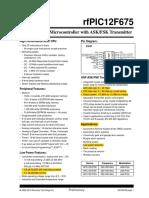 SoC RfPIC12F675 Data Sheet