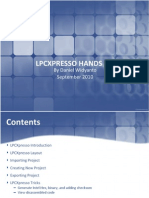 LPCXpresso Hands On