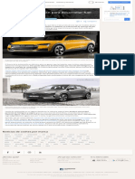 Audi y Hyundai Se Alían Para Desarrollar Fuel Cell