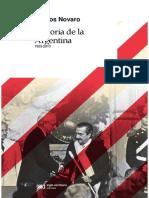 Marcos Novaro Indice e Introduccion