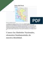 Símbolos Patrios Del Perú