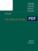 Cicero - On Moral Ends (Cambridge, 2001)