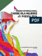 Premio Internacional de Poesía Isla Mujeres 2016