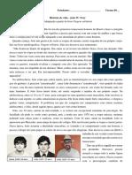 Folha 4 - História de Vida - João Nery (Exercício)